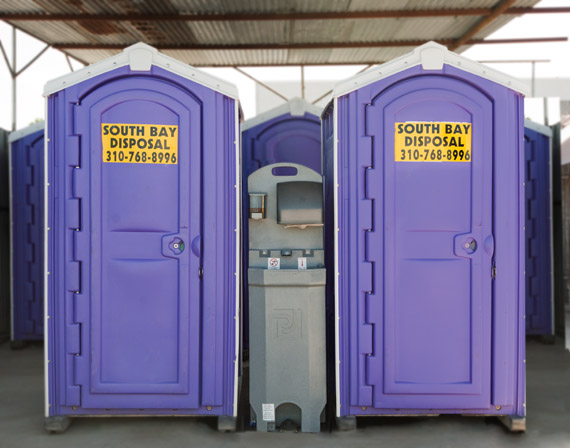 Portapotty rentals in Carson and Gardena
